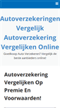Mobile Preview of 123-autoverzekering.nl